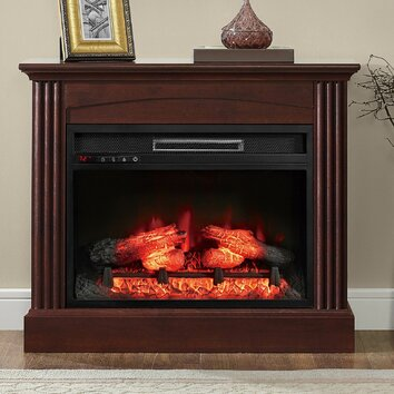 Whalen Furniture Glaston Electric Fireplace Amp Reviews