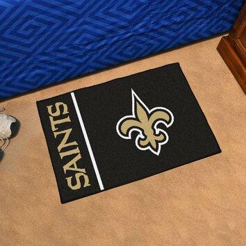 Fanmats Nfl New Orleans Saints Starter Mat Wayfair