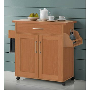 Hodedah Kitchen Island Amp Reviews Wayfair