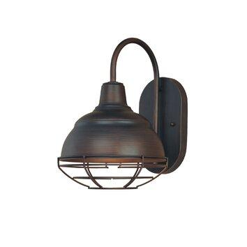 Millennium lighting neo industrial 1 light outdoor barn for Wayfair industrial lamp