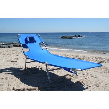 Ostrich Chair Folding Chaise Lounge Amp Reviews Wayfair