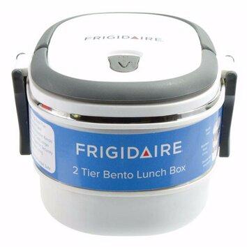 euro ware frigidaire 2 tier oval bento lunch carrier wayfair. Black Bedroom Furniture Sets. Home Design Ideas