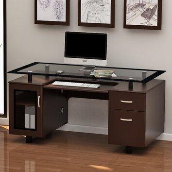Z Line Designs Arria Executive Desk Amp Reviews Wayfair