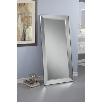 Sandberg Furniture Mirror On Mirror Full Length Leaner