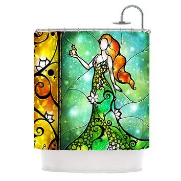 Kess Inhouse Fairy Tale Frog Prince Shower Curtain Wayfair