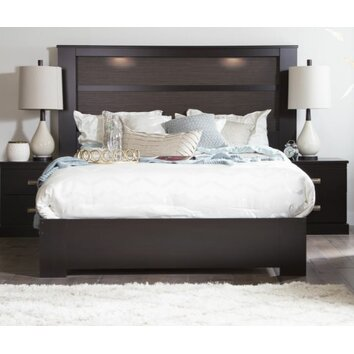 South Shore Gloria Queen Platform Bed Amp Reviews Wayfair