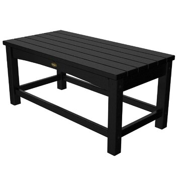 Trex rockport club coffee table reviews wayfair for Wayfair outdoor coffee table