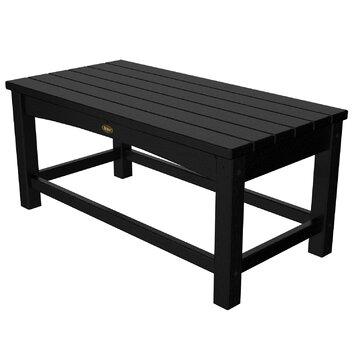 Trex rockport club coffee table reviews wayfair for Wayfair outdoor coffee table