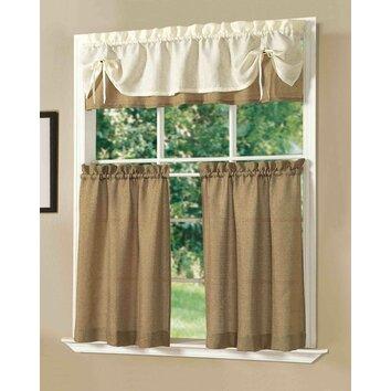 Dainty Home Kitchen Sunrise Window Treatment Set Reviews