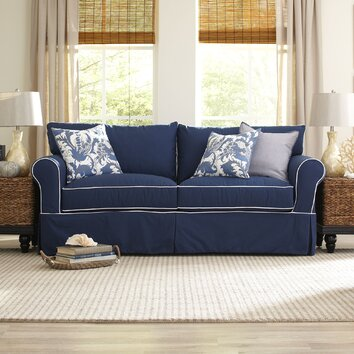 Birch Lane Jameson Sofa With Contrast Welt Amp Reviews Wayfair
