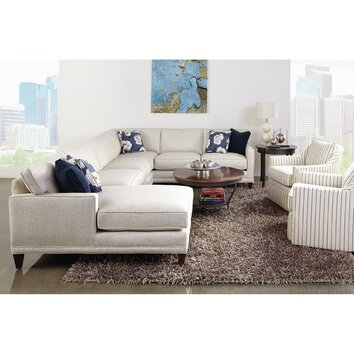 Rowe Furniture Townsend Sectional Amp Reviews Wayfair
