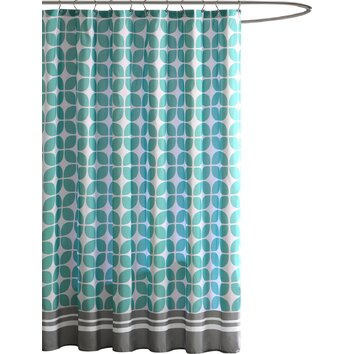 Intelligent Design Lita Shower Curtain Amp Reviews Wayfair