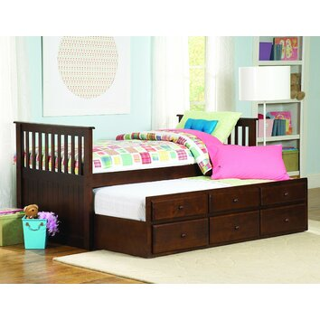 Woodhaven Hill Zachary Twin Twin Trundle Bed Amp Reviews