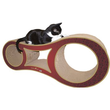 Imperial cat scratch 39 n shapes big cat scratcher recycled for Chaise lounge cat scratcher