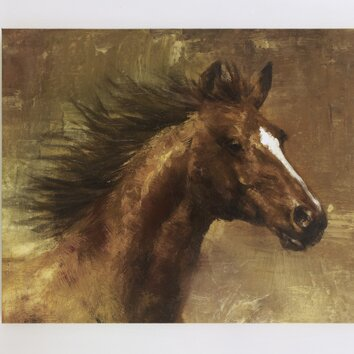 Signature Design by Ashley Horse Painting Print on Wrapped ...