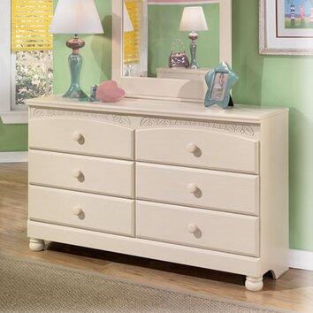Signature Design By Ashley Carey 6 Drawer Dresser Reviews Wayfair