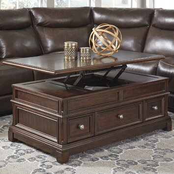 Signature Design By Ashley Lavidor Coffee Table With Lift