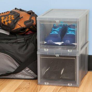 Iris Drop Front Shoe Box Amp Reviews Wayfair