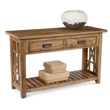 Broyhillr frasier console table wayfairca for Frasier coffee table