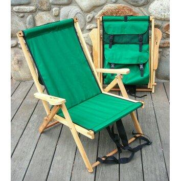 Blue Ridge Chair Works Back Pack Folding Beach Chair