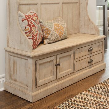 Kosas Home Elodie Pine Storage Entryway Bench Amp Reviews