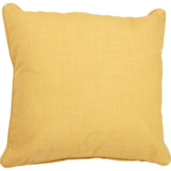 Blazing Needles Solid Outdoor Throw Pillow & Reviews Wayfair
