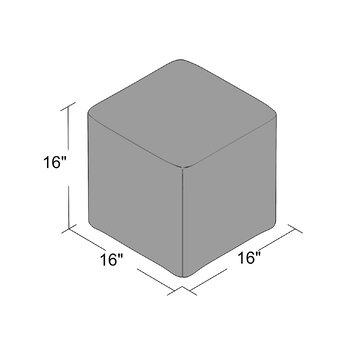 Zipcode Design Dorothea Cube Ottoman Amp Reviews Wayfair