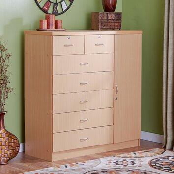Andover Mills Adams 7 Drawer Dresser Amp Reviews Wayfair