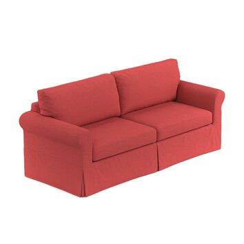 three posts greenside slipcover sofa reviews wayfair. Black Bedroom Furniture Sets. Home Design Ideas