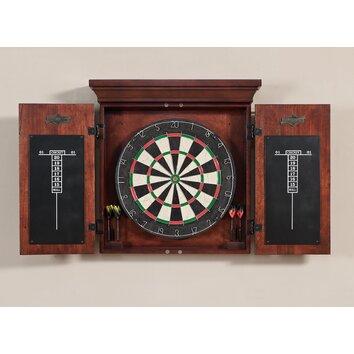 American Heritage Athos Dart Board Cabinet Set Amp Reviews