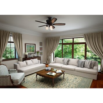 "Hunter Fan 54"" Willowcrest Brittany 5 Blade Ceiling Fan"