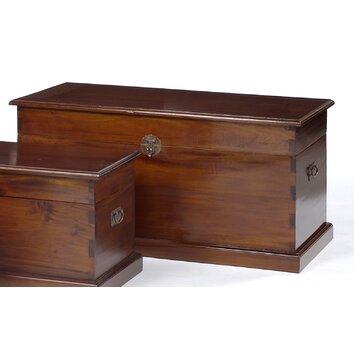 Prestington Priory Wooden Blanket Box Wayfair Uk