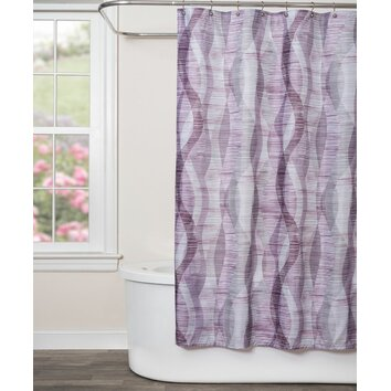 Saturday Knight Sketchbook Waves Shower Curtain Amp Reviews