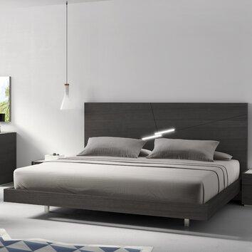 J Amp M Furniture Faro Platform Bed Amp Reviews Allmodern