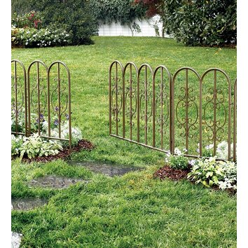Plow Amp Hearth Montebello 32 Quot H X 76 Quot W Fencing With Gate Amp Reviews Wayfair