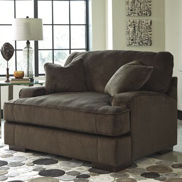 Benchcraft Bisenti Chair And A Half Amp Reviews Wayfair