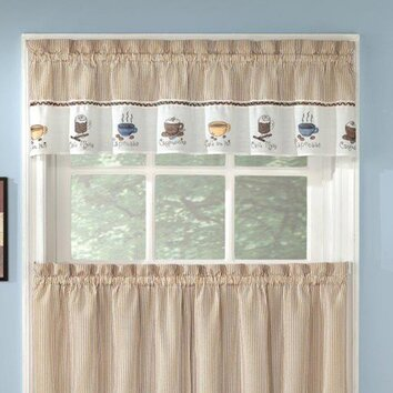 Sweet Home Collection Embroidered Coffee Kitchen 56