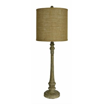Forty West Chandler 36 Quot H Table Lamp With Drum Shade
