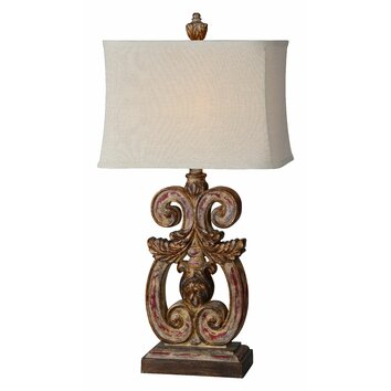 Forty West Penelope 33 Quot Table Lamp Amp Reviews Wayfair