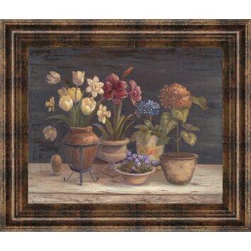 Classyartwholesalers Floral Sensation I By Vivian Flasch
