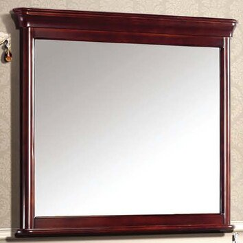 ... Traditional Solid Wood and Plywood Frame Mirror & Reviews   Wayfair