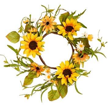 Worth Imports Sunflower Wreath & Reviews | Wayfair