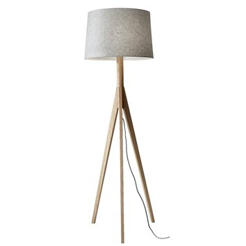 Adesso eden 5925quot tripod floor lamp reviews wayfair for Wayfair adesso floor lamp