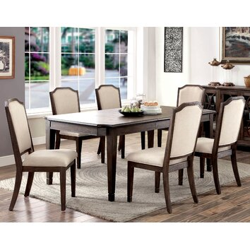 Darby Home Co Oliver 7 Piece Dining Set Wayfair