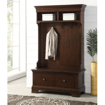 Darby Home Co Howland Hall Tree With Storage Bench
