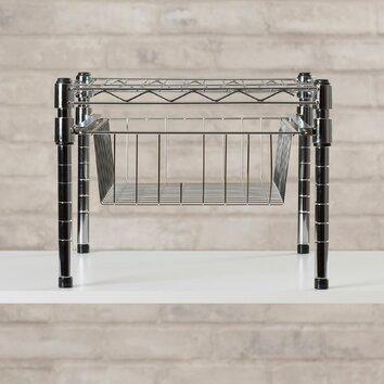 brayden studio lyons adjustable shelf with under cabinet. Black Bedroom Furniture Sets. Home Design Ideas