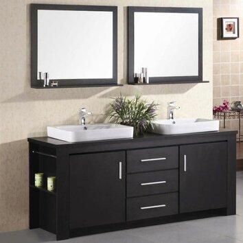 Wade Logan Parsons 72 Quot Double Bathroom Vanity Set With