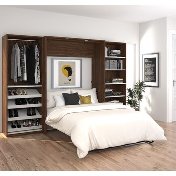 Wade Logan Medan Classic Murphy Bed Wayfair
