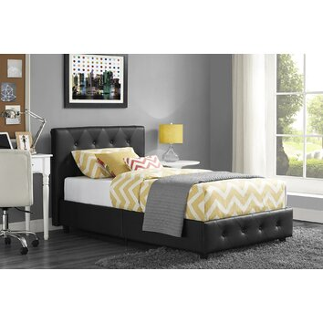 Corrigan Studio Claudius Upholstered Platform Bed