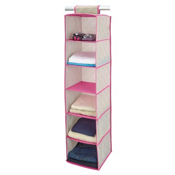 Closet Candie 6 Shelf Hanging Organizer Amp Reviews Wayfair